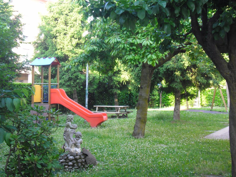 giardino casa aurora